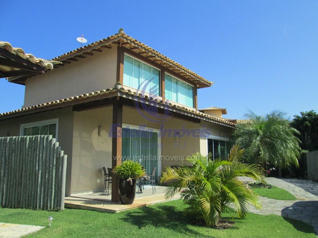 Aluguel Fixo – Casa 4 Quartos Centro / Búzios AF01